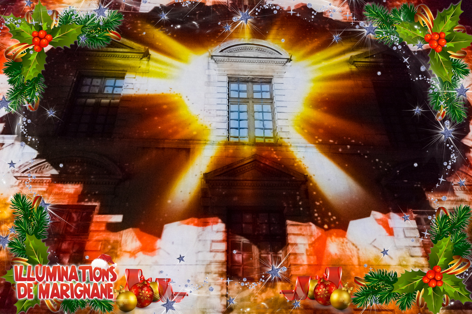 Video Decor Noel Videoprojection