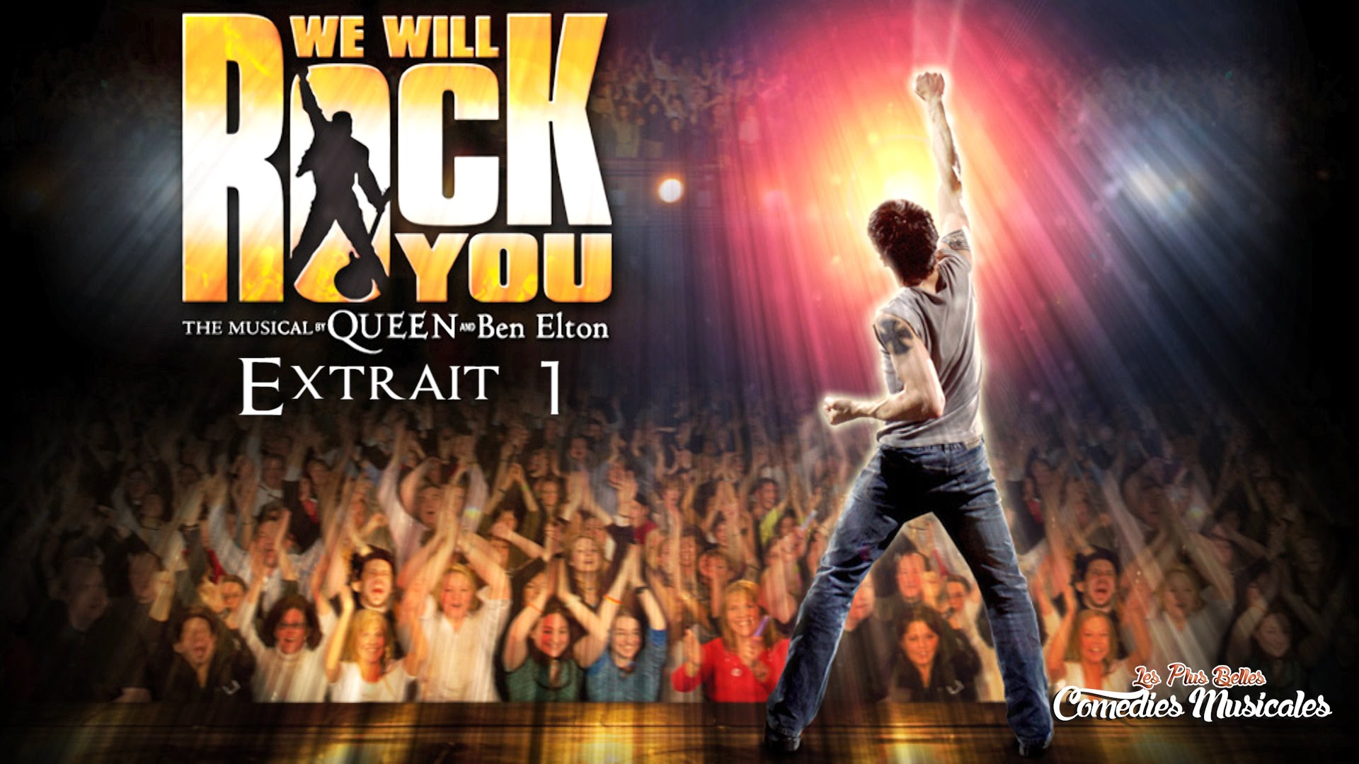 Comédie Musicale : We will rock you, Nathan Show World, Paris 75012